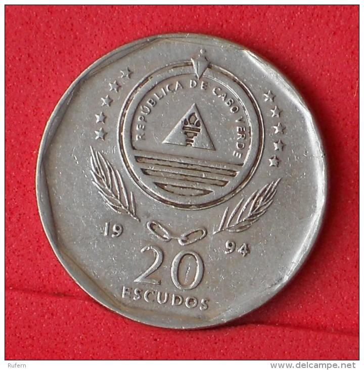 CAPE VERDE  20  ESCUDOS  1994   KM# 30  -    (Nº06493) - Cap Vert