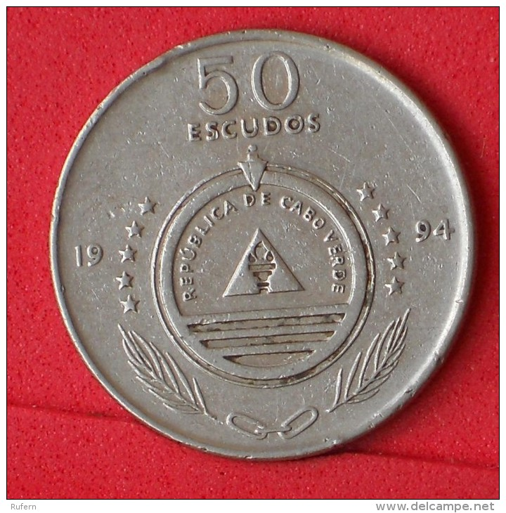 CAPE VERDE  50  ESCUDOS  1994   KM# 37  -    (Nº06494) - Cap Vert