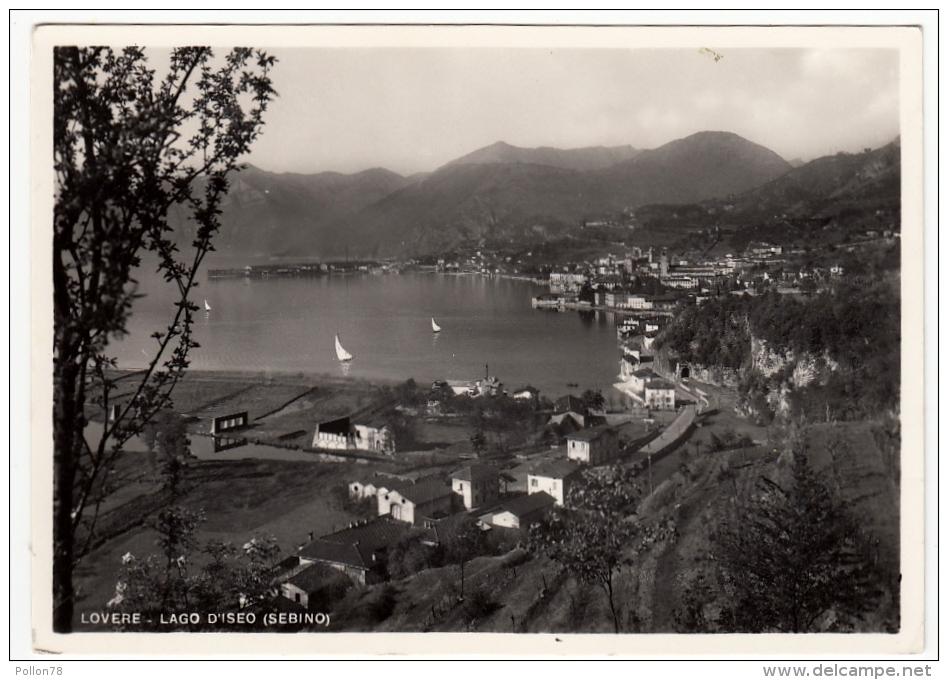 LOVERE - LAGO D'ISEO - SEBINO - BERGAMO - Bergamo
