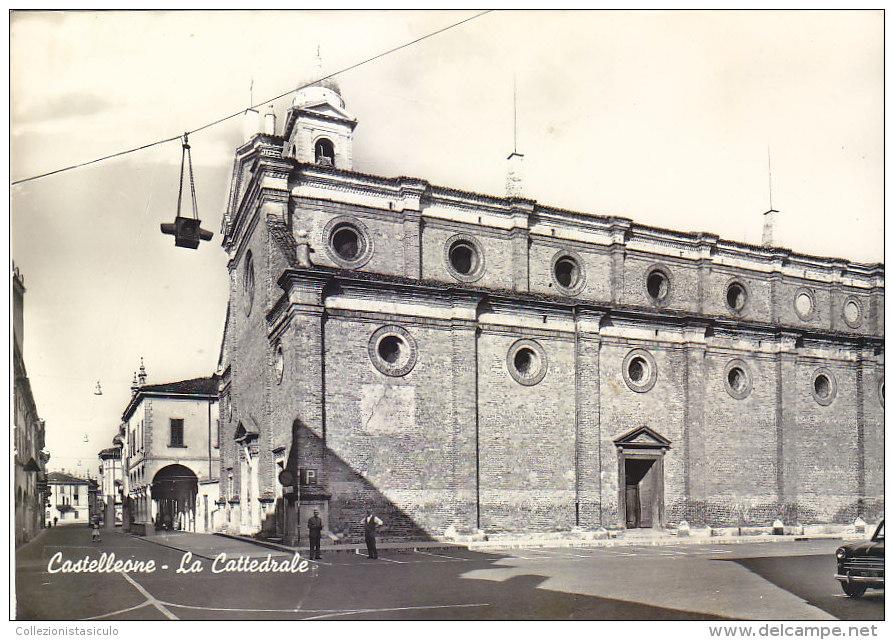 $3- 2998- Castelleone - La Cattedrale - Cremona - F.g. Non Viaggiata - Cremona
