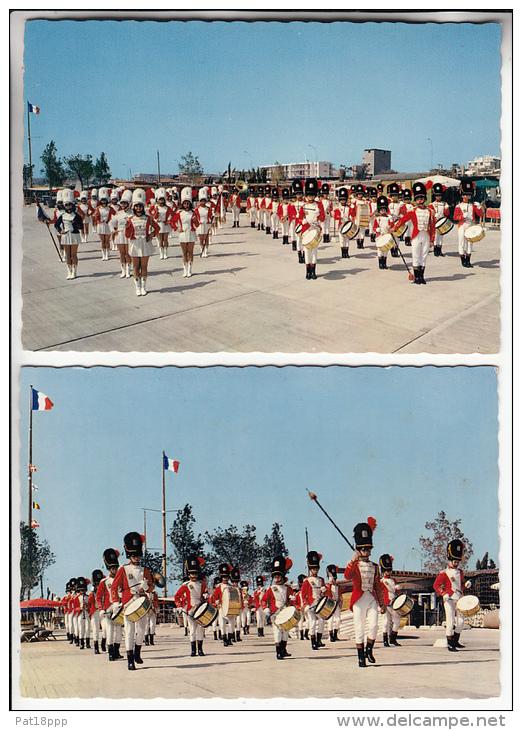SAINT LAURENT DU VAR 06 - ST LAURENT'S MAJORETTES PARADE : Petit Lot De 2 CPSM Dentelées GF - Alpes Maritimes - Saint-Laurent-du-Var