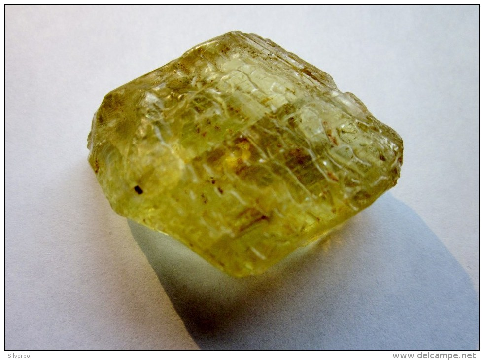 GS038 - Top Quality Faceting Material - Finest Yellow Orthoclase Feldspar From Madagascar - 180 Carats - Jewels & Clocks