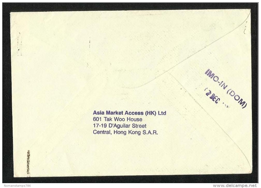 Hong Kong China Air Mail  Postal Used Cover HongKong To Pakistan - 1997-... Sonderverwaltungszone Der China