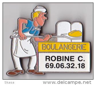Magnet Ancien, Boulangerie - Fournil, EGF émail 5 Couleurs - Magnets
