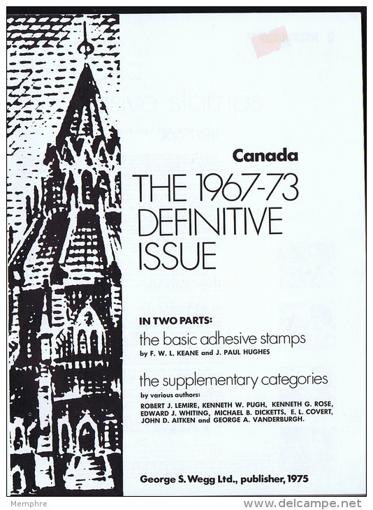 CANADA The 1967-73 Definitive Issue   (Centenial Issue)  As New! - Canada