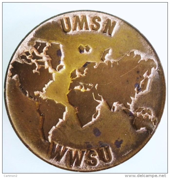 MEDAILLE SUISSE PAR HUGUENIN U.MS.N. ET W.W.S.U. UNION SPORTIVE SKI NAUTIQUE ? CONFEDATION ? SPORT JURY - Non Classés