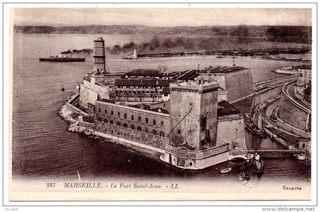 CP,13, MARSEILLE, Le Fort Saint-Jean, Vierge - Unclassified