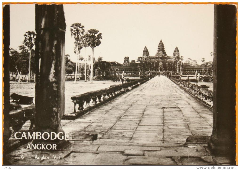 Cambodge - Angkor - Angkor Vat - Photo A. Robillard, Non Circulée - Cambodia