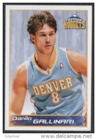 BASKETBALL - PANINI NBA STICKER COLLECTION - DANILO GALLINARI - DENVER NUGGETS - Sport