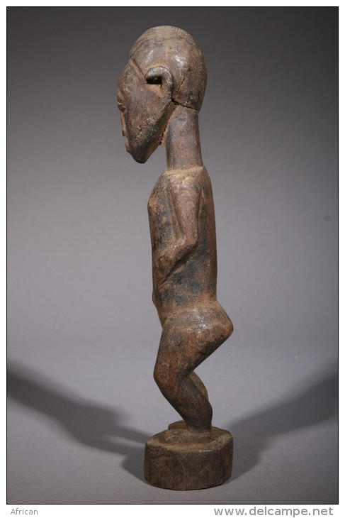 Art Africain Statuette Baoulé - Art Africain