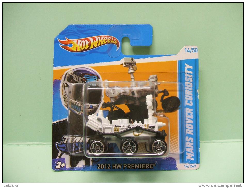 MARS ROVER CURIOSITY - HW Première 2012 - HOTWHEELS Hot Wheels Mattel 1/64 EU Blister - HotWheels