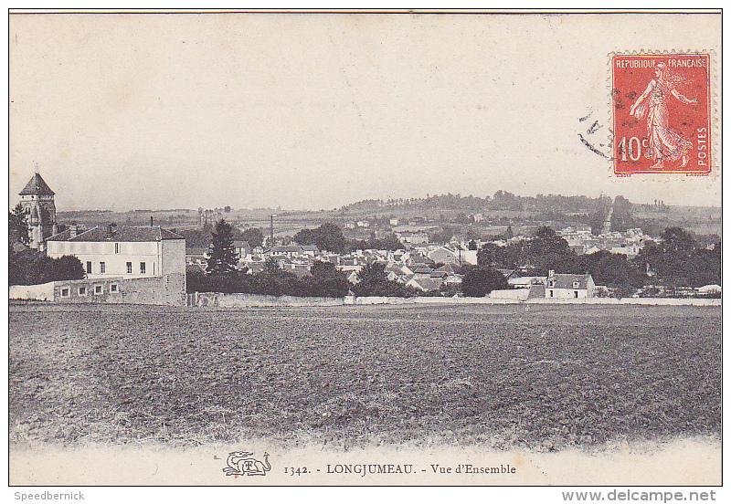 23626 LONGJUMEAU Vue D'ensemble  -1342 Salamandre - Longjumeau