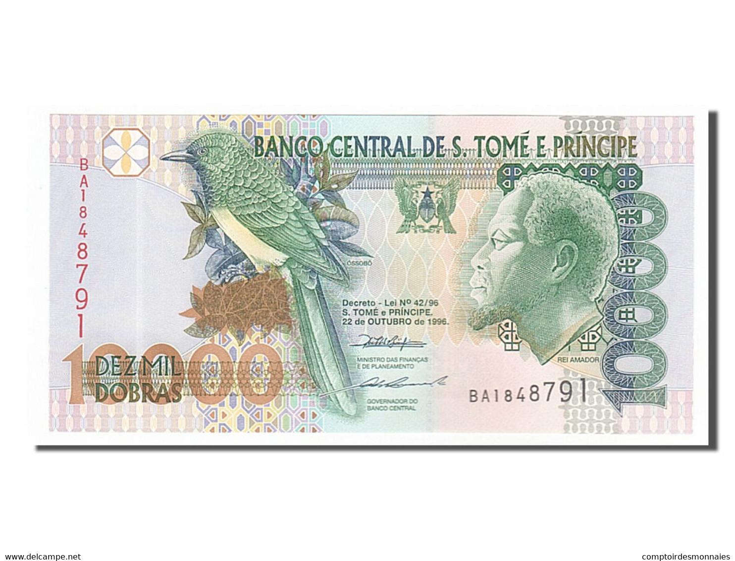 [#155023] Saint Thomas Et Prince, 10 000 Dobras Type Amador - Sao Tomé Et Principe