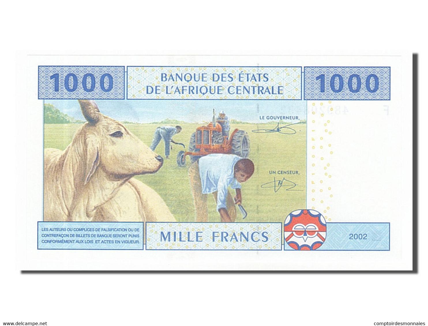 [#155043] Guinée Equatoriale, 1000 Francs Type 2002 - Guinée Equatoriale