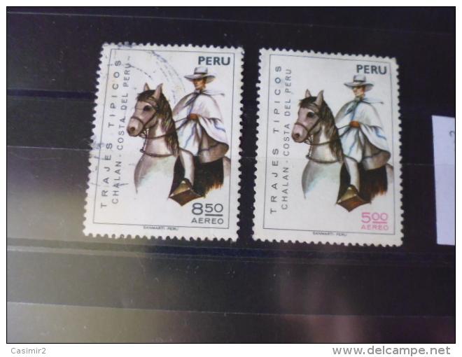 PEROU TIMBRE OU SERIE COMPLETE  Poste Aerienne   YVERT N°398.399 - Peru
