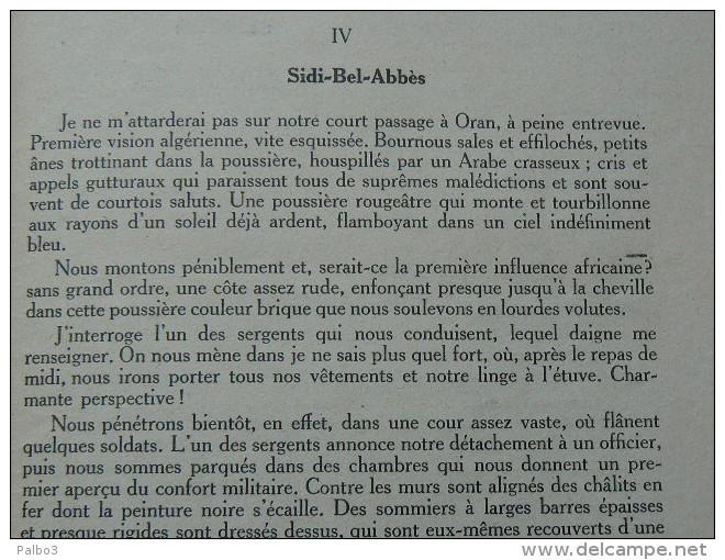 Livre Souvenirs De La Legion Etrangere 1928 - 1939-45