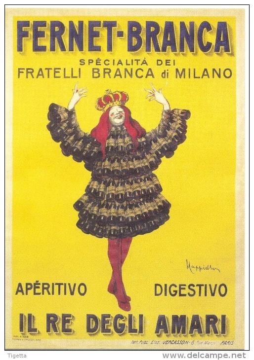 PROMOCARD N°  5040  FERNET BRANCA - Advertising