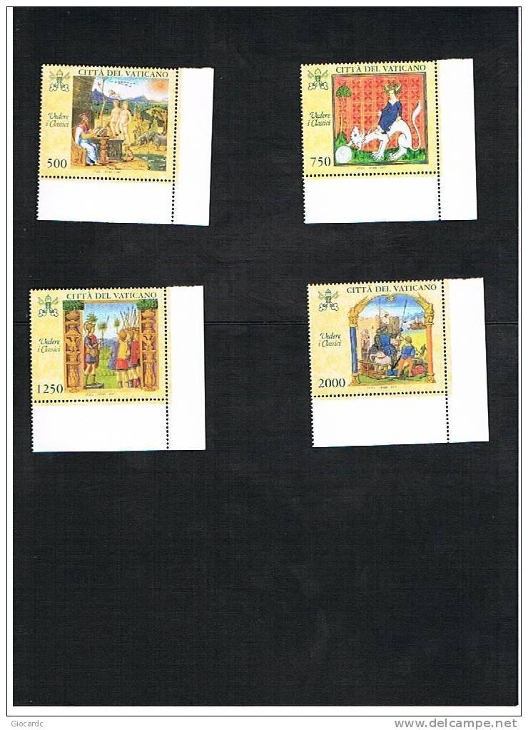 VATICANO - UNIF.1083.1086 -  1997 VEDERE I CLASSICI     -   NUOVI  (MINT)** - Vaticano (Ciudad Del)