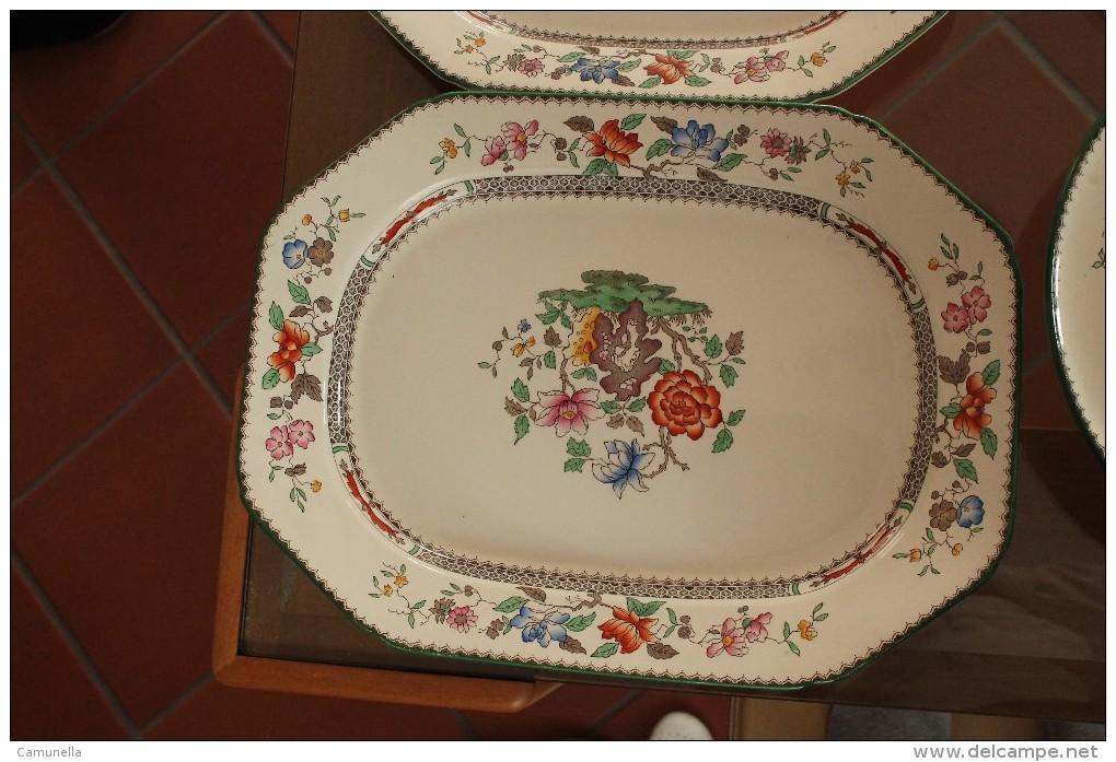Copeland Spode England Chinese Rose-servizio Di 139 Pezzi - Copeland