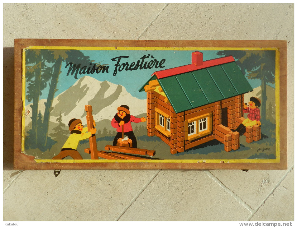 Jeujura Maison Forestiere Jouets Anciens