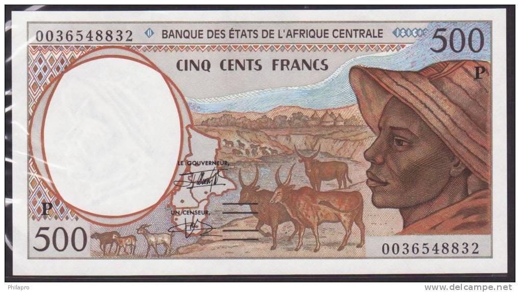 2 BILLETS BANQUE DES ETAT DE L´AFRIQUE CENTRALE UNC Réf  486+487 - Central African Republic