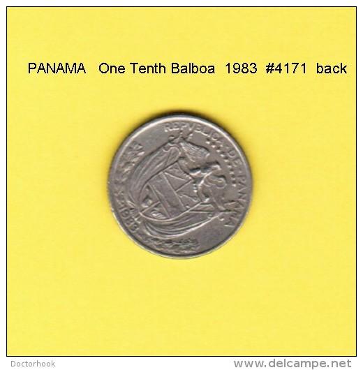 PANAMA   1/10th  BALBOA  1983  (KM # 10A) - Panama
