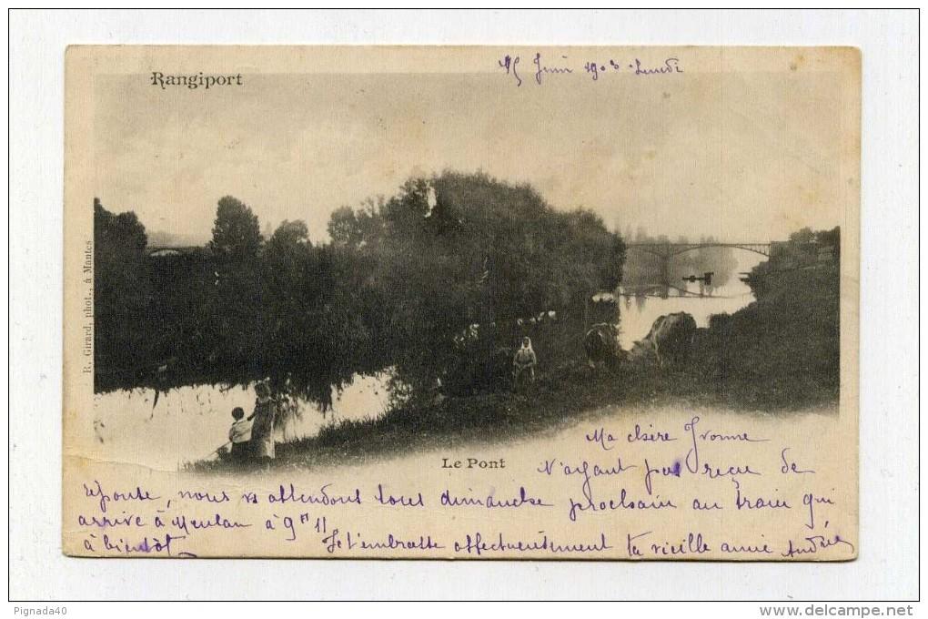 CP , 94 , RANGIPORT , Le Pont - Autres Communes