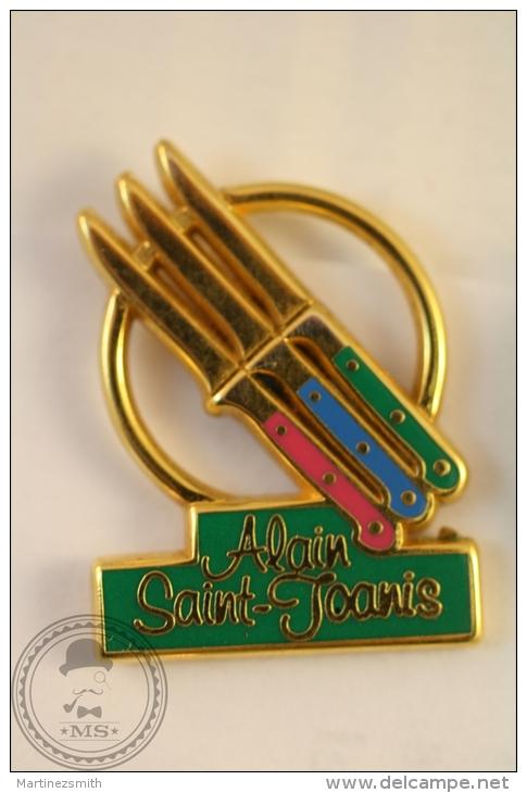 French Advertising Trademark  - Alain Saint Joanis - Pin Badge - #PLS - Marcas Registradas