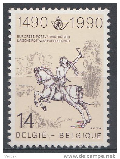 BELGIQUE Mi.nr.:2402 Postverbindungen In Europa 1990 Neuf Sans Charniere / Mnh / Postfris - België