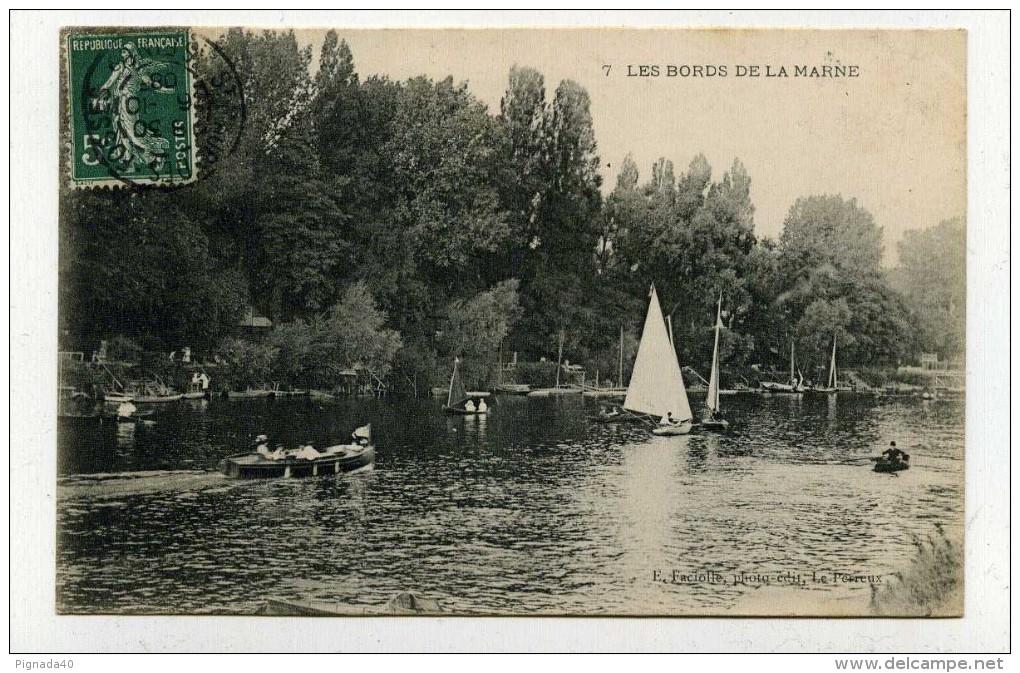 CP , 94 , LES BORDS De La MARNE - France