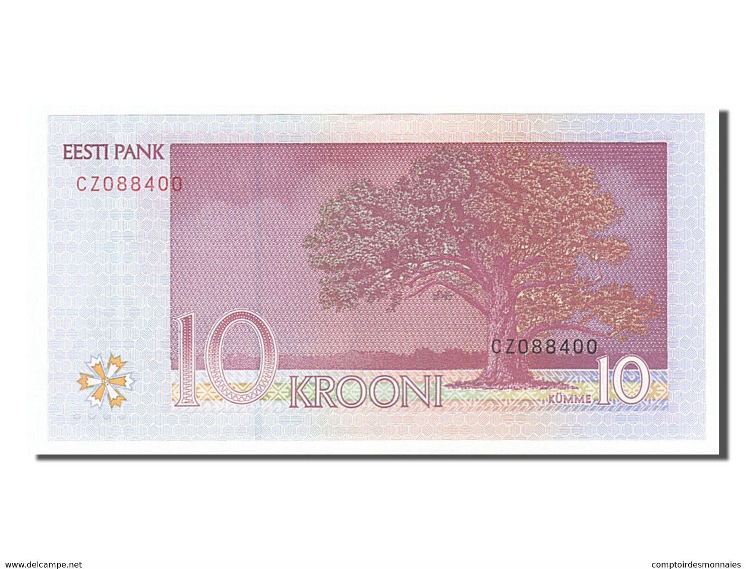 [#155080] Estonie, 10 Krooni Type Hurt - Estonia