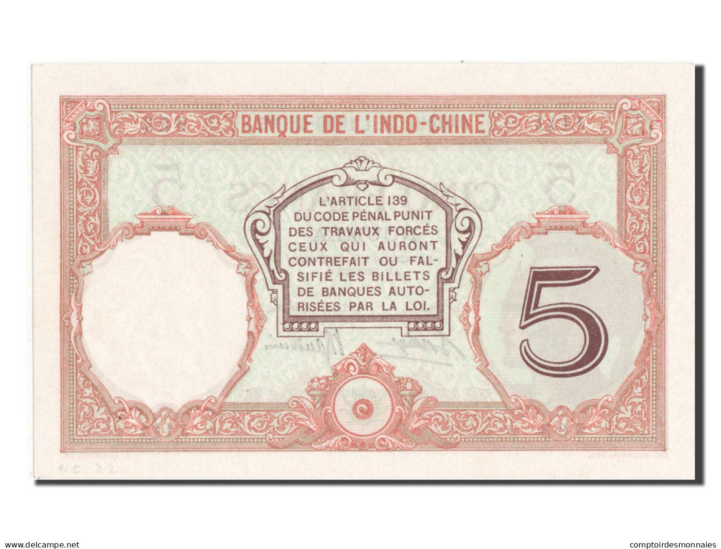 [#81756] Nouvelle Calédonie, Nouméa, 5 Francs Type 1926-29 - Nouméa (Nuova Caledonia 1873-1985)