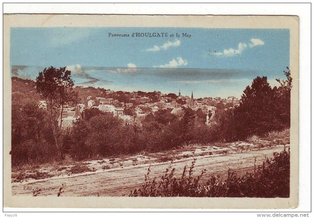 Cpa   Houlgate   Panorama - Houlgate