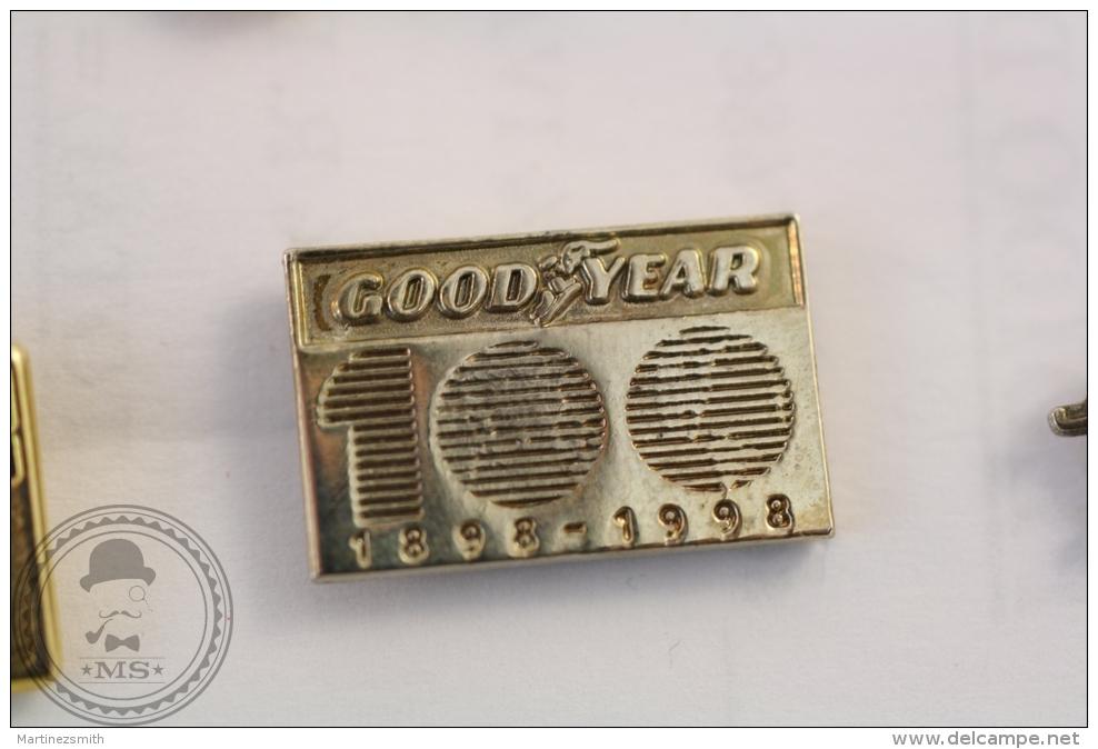 Good Year Tires 100 Years Anniversary 1898 - 1998 - Advertising Pin Badge   - #PLS - Pin
