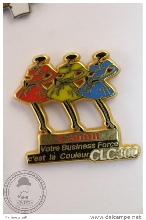 Canon CLC300 - Arthus Bertrand Pin Badge   - #PLS - Arthus Bertrand