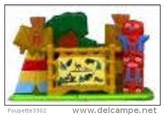 Kinders Puzzles Plastique Astérix - Le Village Indien - Puzzles