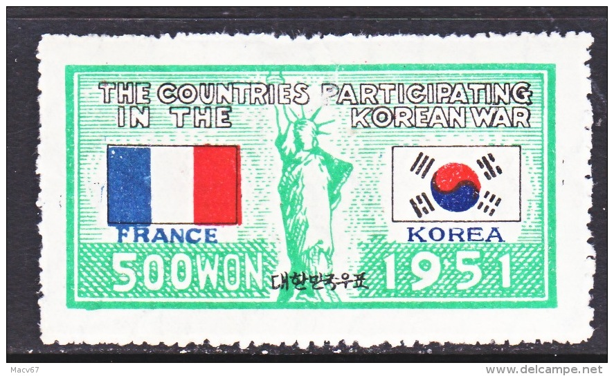 KOREA  150  *   FLAGS - Corée Du Sud