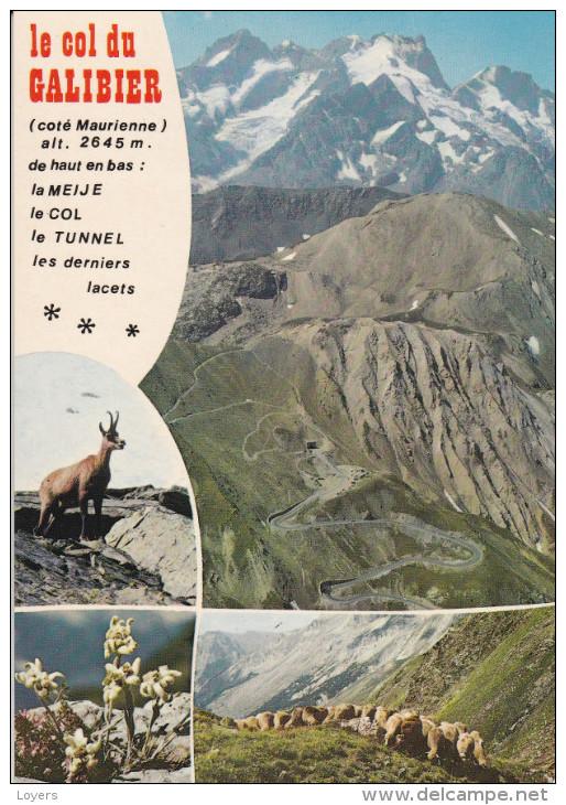LE COL DU GALIBIER  (côté Maurienne)......(scan Verso) - Autres Communes