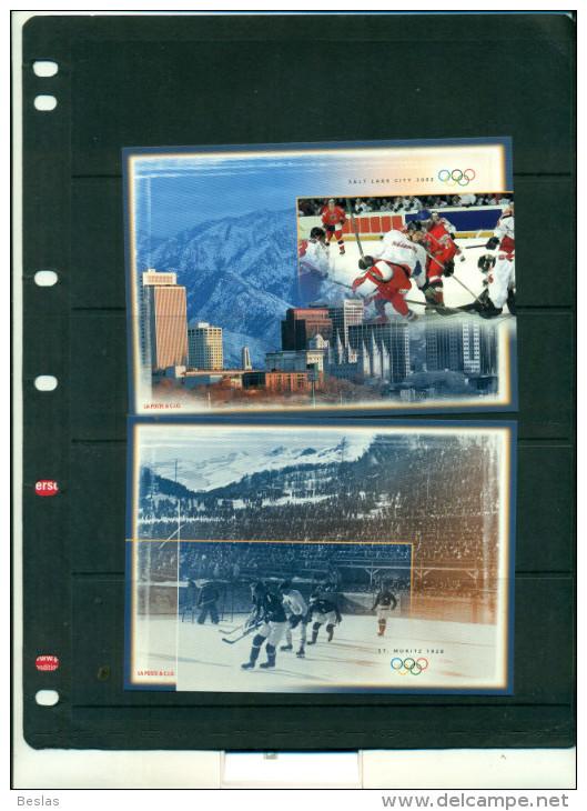 SUISSE J.O. SALT LAKE CITY 2 ENTEIERS POSTAUX NEUFS - Winter 2002: Salt Lake City