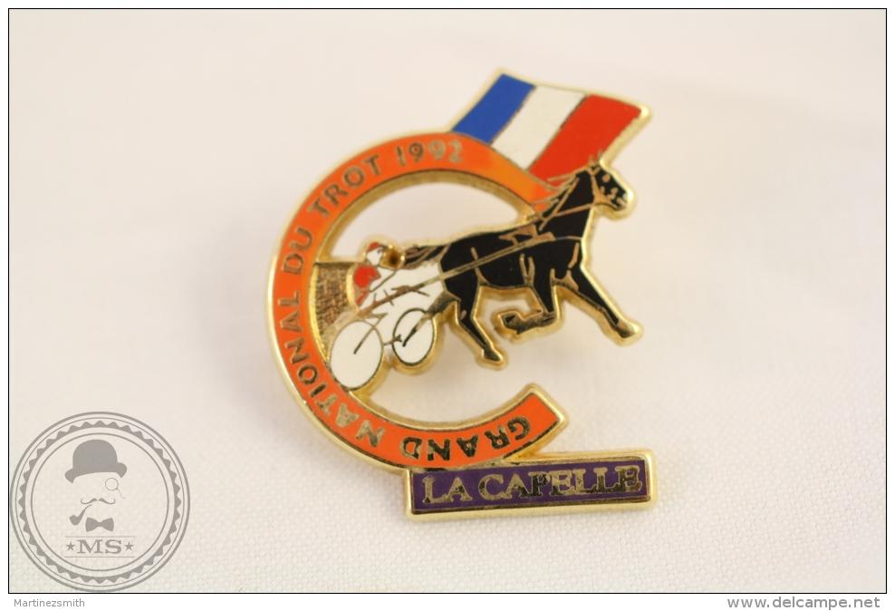 Grand National Du Trot 1992 France - La Capelle -Starpin´s  Pin Badge  - #PLS - Pin