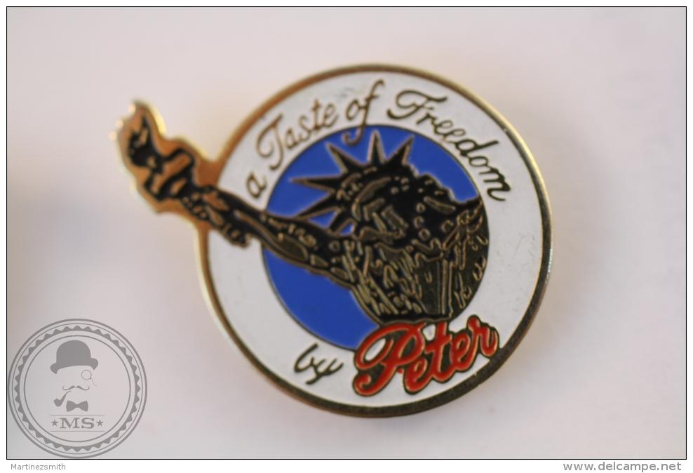 Taste Of Freedom By Peter - Pin Badge - #PLS - Marcas Registradas