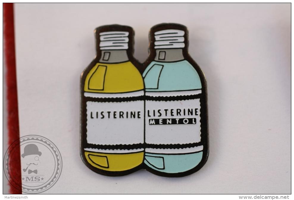 Listerine - Advertising Pin Badge - #PLS - Marcas Registradas