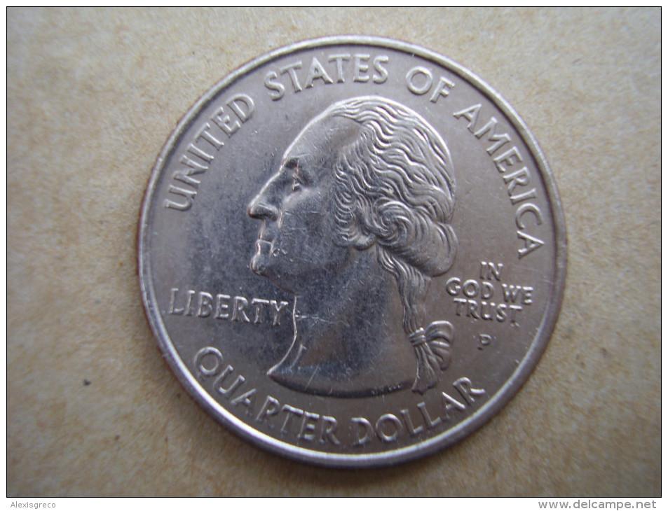 "U.S.A. 2003 STATE QUARTER  ""ARKANSAS""  Mark ´P´ Condition USED VERY GOOD - Stati Uniti"