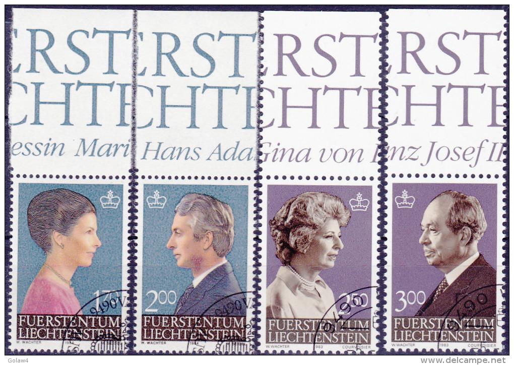 11783# LIECHTENSTEIN LOT TIMBRES TTB OBLITERES Cote 44 Euros - Liechtenstein