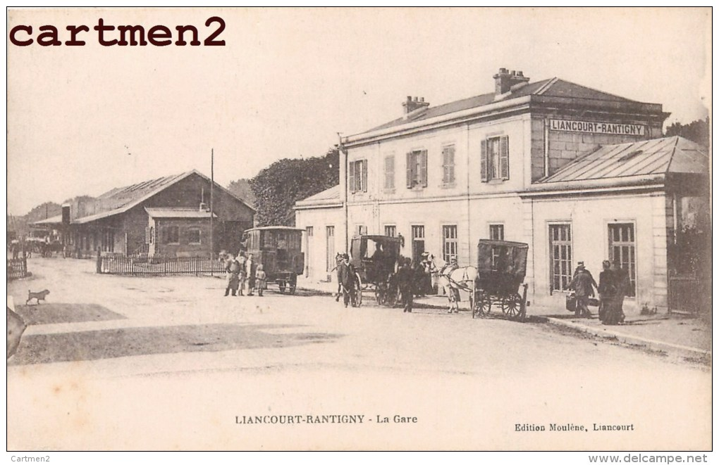 LIANCOURT-RANTIGNY LA GARE ANIMEE 60 OISE - Liancourt