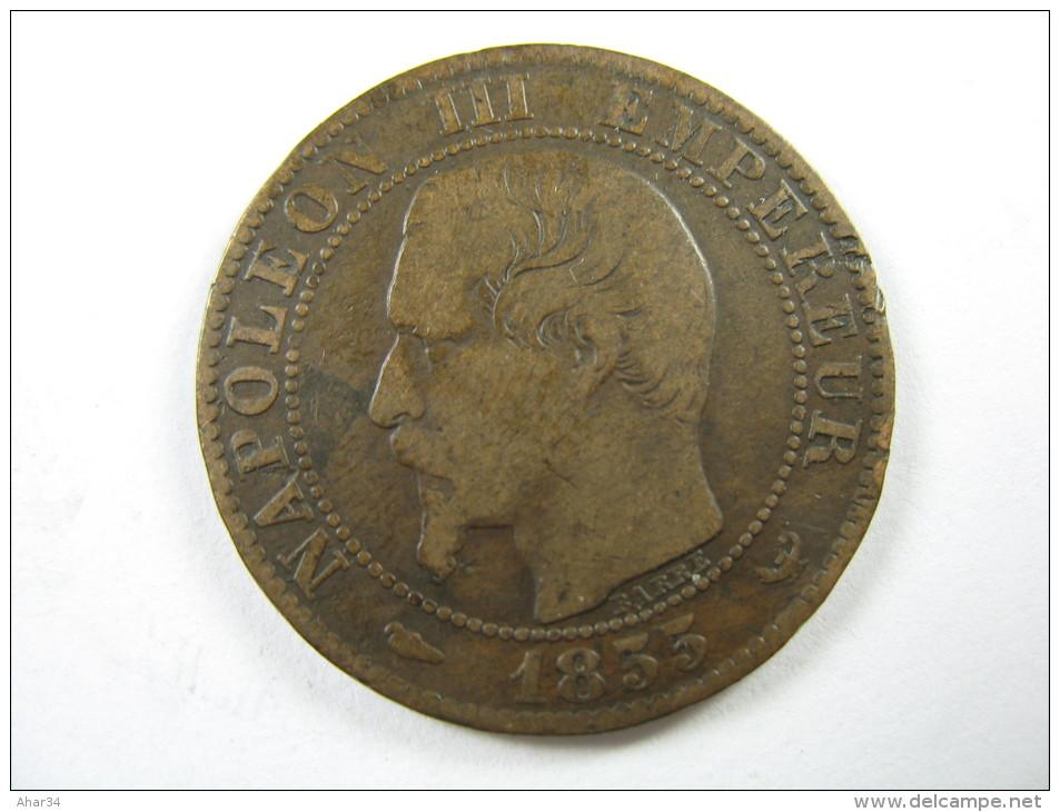 FRANCE 5 CENTIMES 1855  W     COIN   LOT 23 NUM  18 - C. 5 Centimes