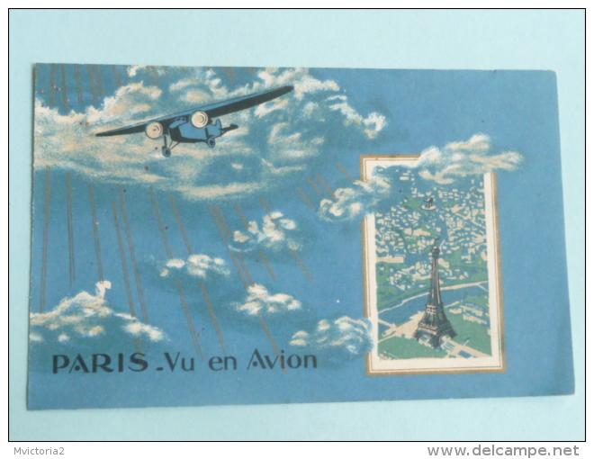 PARIS - Vu En Avion - France