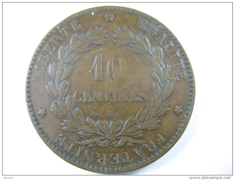 FRANCE 10 CENTIMES 1894 A LOT 24 NUM 15 - France