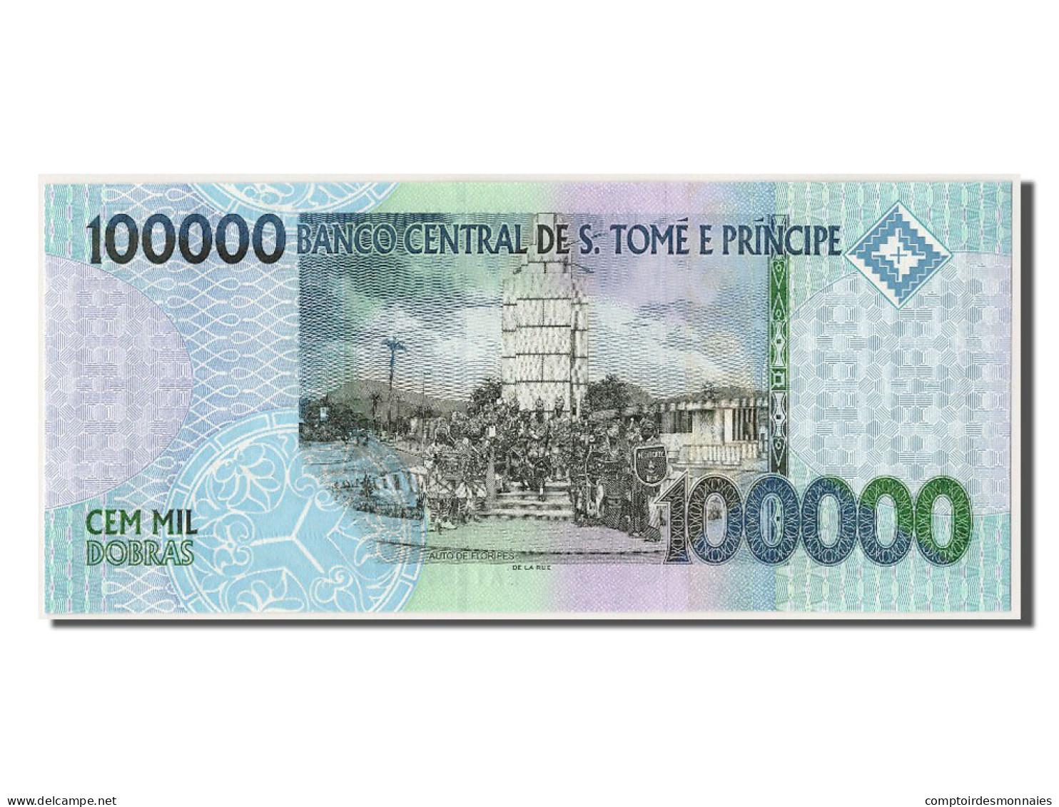 Saint Thomas Et Prince, 100 000 Dobras Type Tenreiro - Sao Tomé Et Principe