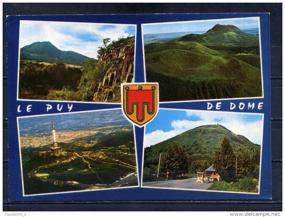 LE PUY DE DOME . Multivues . Voir Recto - Verso    (S416) - Frankrijk
